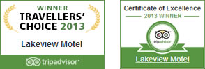 Tripadvisor Awards 2013 - Wanaka Motel Accommodation